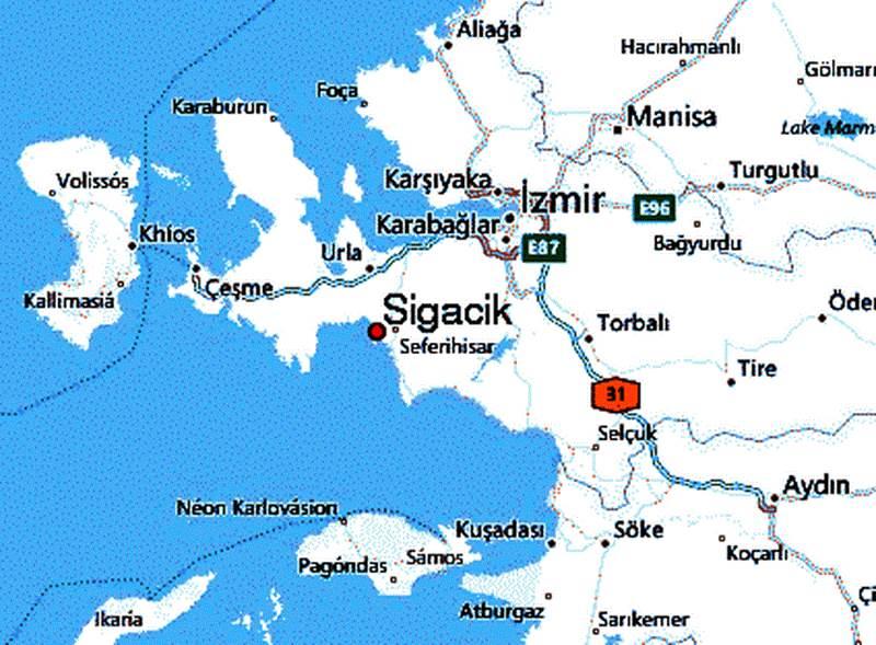 Gezi Alemi Turkiye Izmir Sigacik Sicacik
